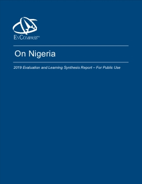 On Nigeria Big Bet: 2019 Evaluation Report
